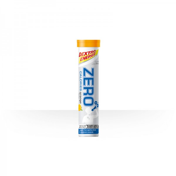 Zero Calories Dextro Brausetabletten orange